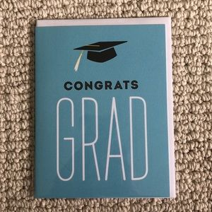 """Other - """"Congrats Grad"""" card set of 4 cards"""